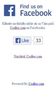 Facebook demo